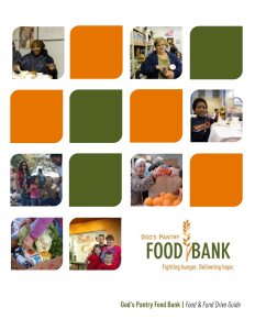 Food and Fund Drive Guide Cover