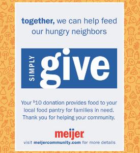 Link to Meijer Simply Give Program website